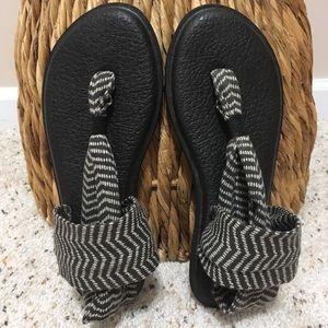 """Natural Congo"" Sanuk Yoga Sling 2Prints Sandal!💥"
